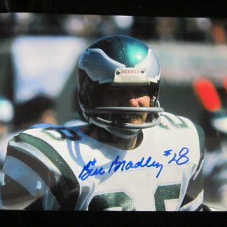 Philadelphia Eagles Bill Bradley Autographed Photo