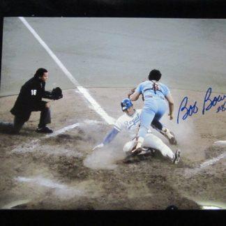Philadelphia Phillies Bob Boone Autographed Photo