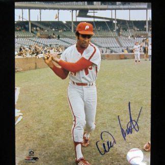 Philadelphia Phillies Willie Montanez Autographed Photo