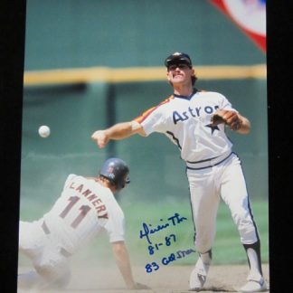 Houston Astros Dickie Thon Autographed Photo