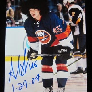 New York Islanders Aaron Asham Autographed Photo