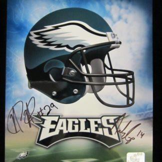 Philadelphia Eagles Cooper/Allen Autographed Photo
