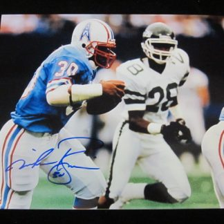Houston Oilers Mike Rozier Autographed Photo