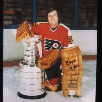 Philadelphia Flyers Wayne Stephenson Autographed Photo