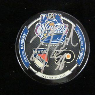 Philadelphia Flyers Zac Rinaldo Autographed Puck