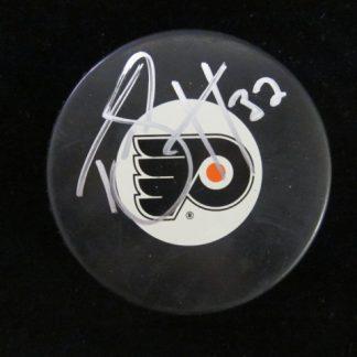 Philadelphia Flyers Tom Sestito Autographed Puck
