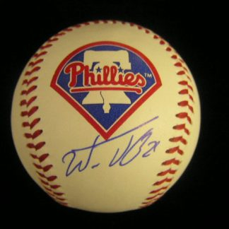 Philadelphia Phillies Wilson Valdez Autographed Baseball