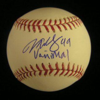 Philadelphia Phillies Vance Worley Autographed Baseball