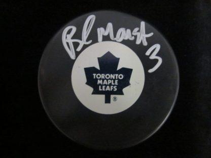 Toronto Maple Leafs Brad Marsh Autographed Puck