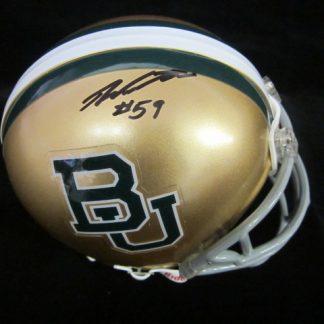 Baylor Bears Danny Watkins Autographed Mini Helmet