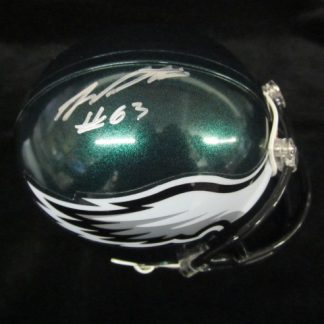 Philadelphia Eagles Danny Watkins Autographed Mini Helmet