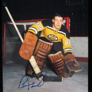 Boston Bruins Bernie Parent Autographed Photo