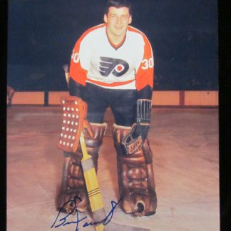 Philadelphia Flyers Bernie Parent Autographed Photo