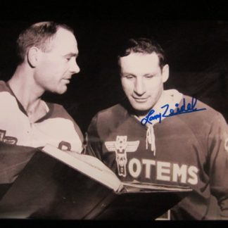 Seattle Totems Larry Zeidel Autographed Photo