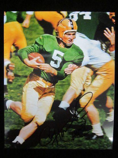 Notre Dame Fighting Irish Paul Hornung Autographed Photo
