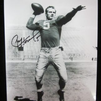 Notre Dame Fighting Irish Paul Hornung Autographed Photo