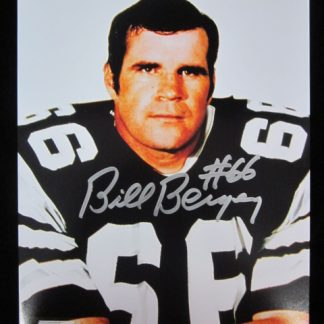 Philadelphia Eagles Bill Bergey Autographed Photo