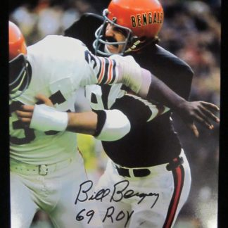 Cincinnati Bengals Bill Bergey Autographed Photo