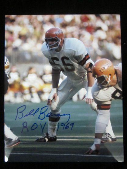 Cincinnati Bengals Bill Bergey Autographed Photo