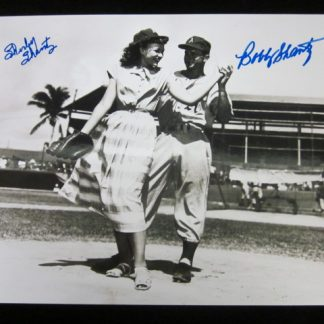 Philadelphia A's Bobby and Shirley Shantz Autographed Photo