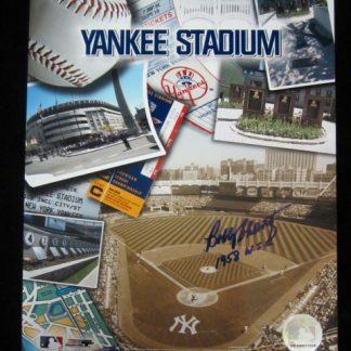 New York Yankees Bobby Shantz Autographed Photo