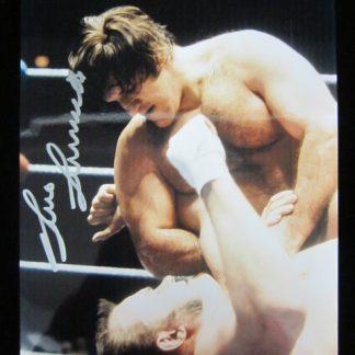 WWF Champion Bruno Sammartino Autographed Photo