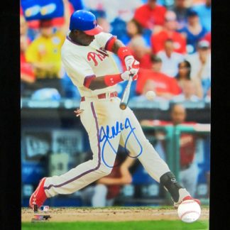 Philadelphia Phillies John Mayberry Jr. Autographed Photo
