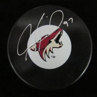 Phoenix Coyotes Jeremy Roenick Autographed Puck