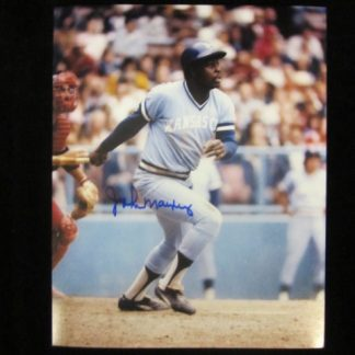 Kansas City Royals John Mayberry Autographed Photo