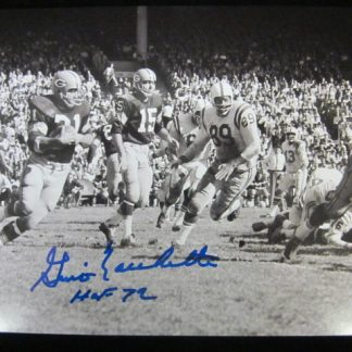 Baltimore Colts Gino Marchetti Autographed Photo