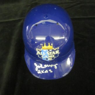 Kansas City Royals John Mayberry Autographed Mini Helmet