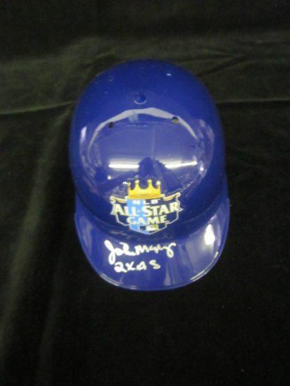 Kansas City Royals John Mayberry Autographed Mini Helmet