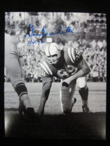 Baltimore Colts Gino Marchetti Autographed Photo