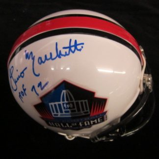 Hall of Fame Gino Marchetti Autographed Mini Helmet