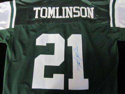 New York Jets LaDainian Tomlinson Autographed Jersey