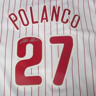 Philadelphia Phillies Placido Polanco Autographed Jersey