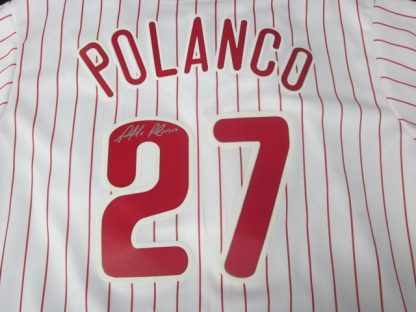 Philadelphia Phillies Placido Polanco Autographed Jersey