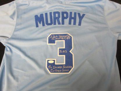 Atlanta Braves Dale Murphy Autographed Jersey