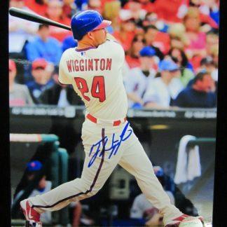 Philadelphia Phillies Ty Wigginton Autographed Photo