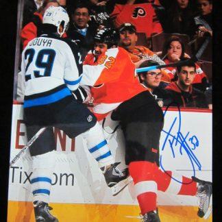 Philadelphia Flyers Tom Sestito Autographed Photo