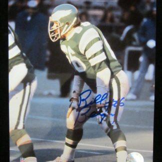 Philadelphia Eagles Bill Bergey Autographed Photo