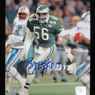 Philadelphia Eagles Byron Evans Autographed Photo