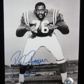 Philadelphia Eagles Bob Brown Autographed Photo