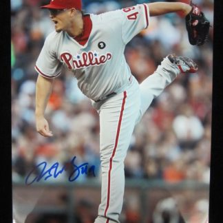 Philadelphia Phillies Vance Worley Autographed Photo