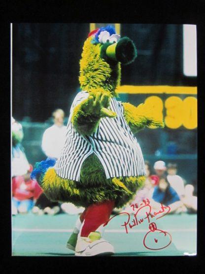 Phillie Phanatic Autographed Photo