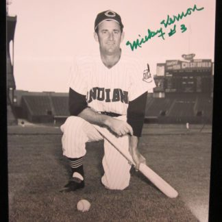 Cleveland Indians Mickey Vernon Autographed Photo