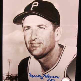 Pittsburgh Pirates Mickey Vernon Autographed Photo