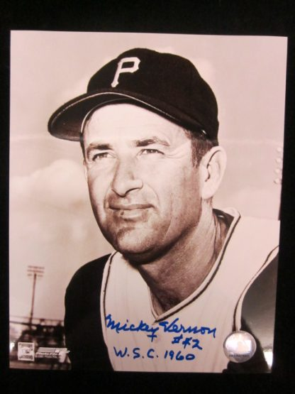 Pittsburgh Pirates Mickey Vernon Autographed Photo