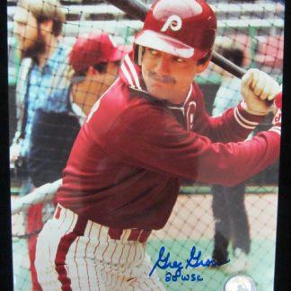 Philadelphia Phillies Greg Gross Autographed Photo