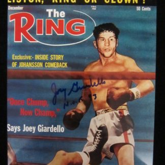 Autographed Boxing & Wrestling Photos